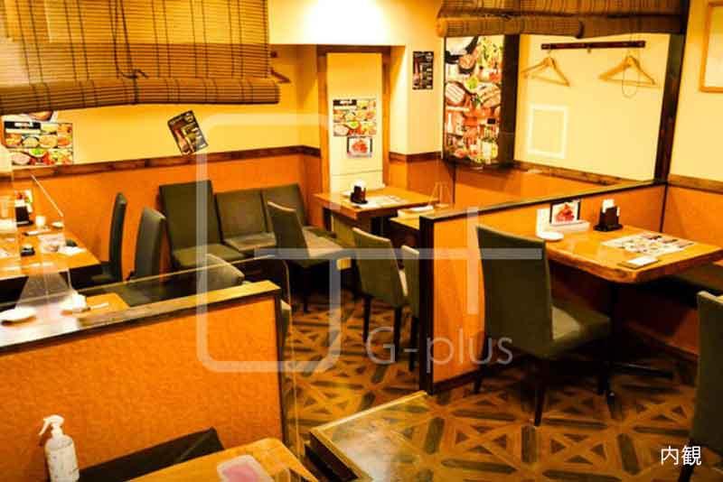 桜通りの韓国料理店居抜き店舗 地下1階のイメージ