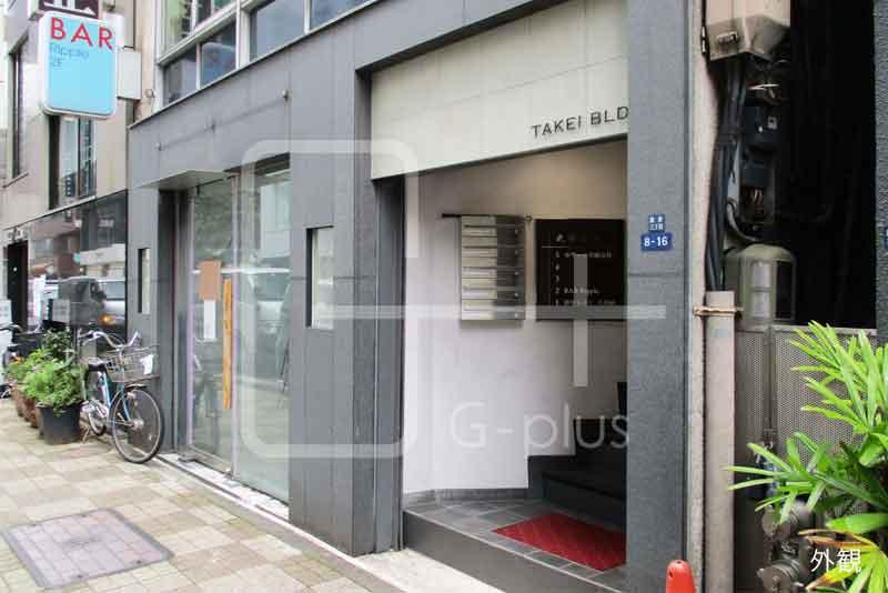 銀座松屋至近の1階路面店舗のイメージ