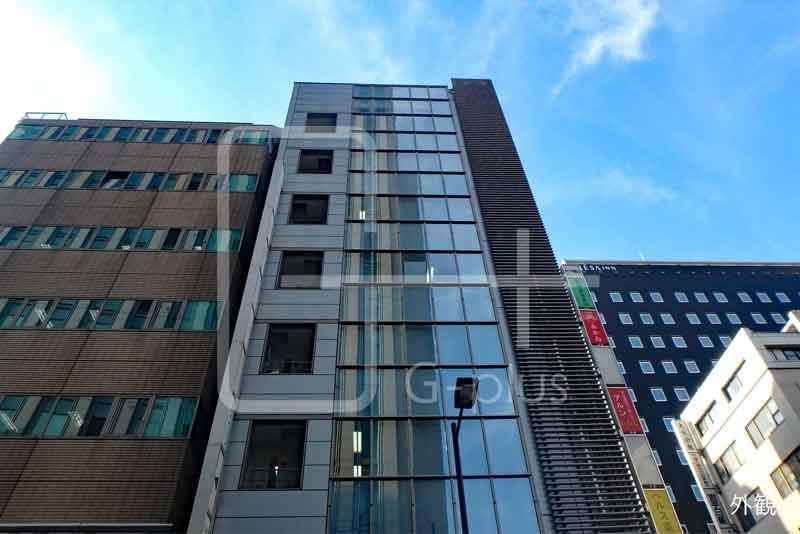 銀座花椿通り角地の貸事務所 3階のイメージ