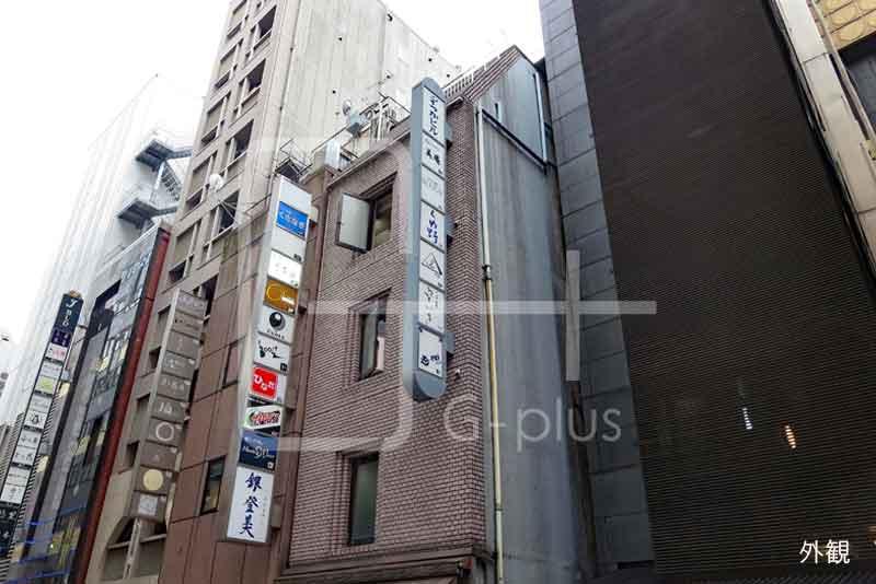 銀座8丁目金春通りの貸店舗 地下1階のイメージ