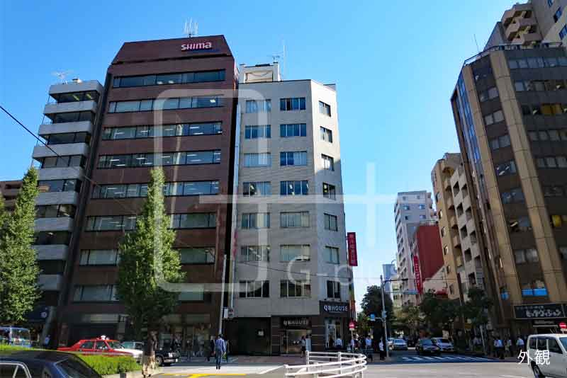 昭和通り角地の貸事務所 5階B室のイメージ