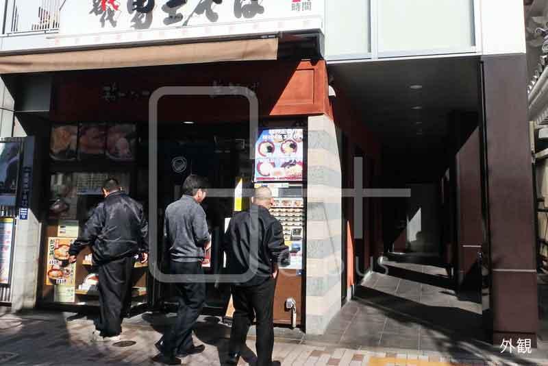 歌舞伎座隣の好立地路面店舗 1階+2階のイメージ